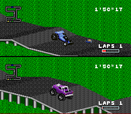 325544-rpm-racing-snes-screenshot-i-am-passing-a-mine-hitting-it