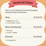 Animal Crossing: New Horizons – Get ready for August fireworks and newly added seasonal items!